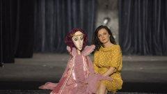 Ваня Камянска, която вдъхва живот на куклите
