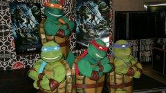 Отборът костенурки е създаден от Кевин Ийстман и Питър Леирд за черно-бяло хумористично списание през 1984 година