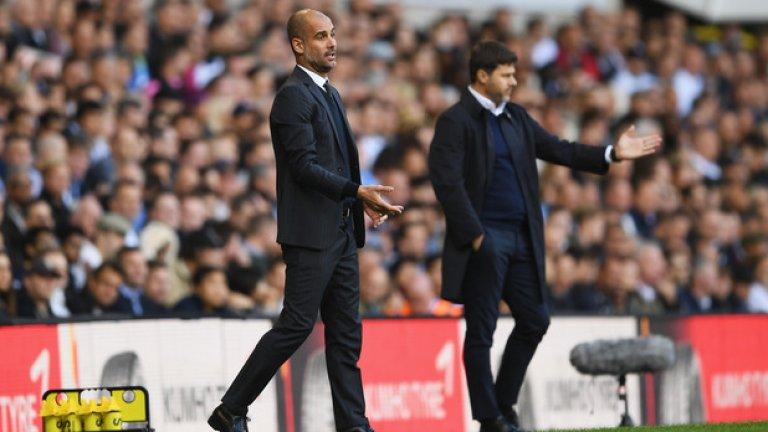 Пеп Гуардиола, отказал се на 35 г. Когато човек погледне Гуардиола край тъча, има чувството, че мениджърът на Манчестър Сити е готов да се съблече по екип и да влезе да играе.