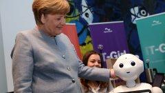 Ето каква е стратегията на Меркел за превземане на втората вълна на изкуствен интелект