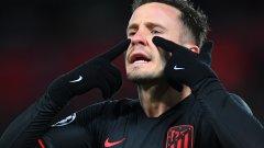 На осминафиналите Атлетико отстрани Ливърпул.