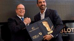 Джанлуиджи Буфон бе награден с Golden foot 2016