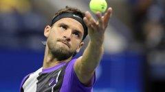 Представянето на Григор на US Open дава добри надежди за края на сезона.