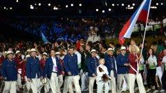 Мария Шарапова водеше руската делегация по време на откриващата церемония на Игрите в Лондон през 2012 година. Руската тенисистка не е сред заподозрените в употреба на забранени вещества.