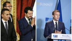 Какво имат да делят помежду си властниците в Рим и Париж