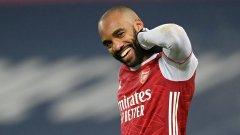Арсенал продължава с победите, смачка кандидат за изпадане