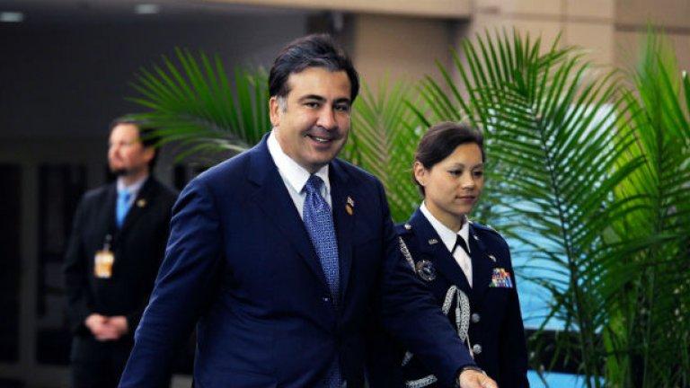 Саакашвили отново е арестуван в Киев