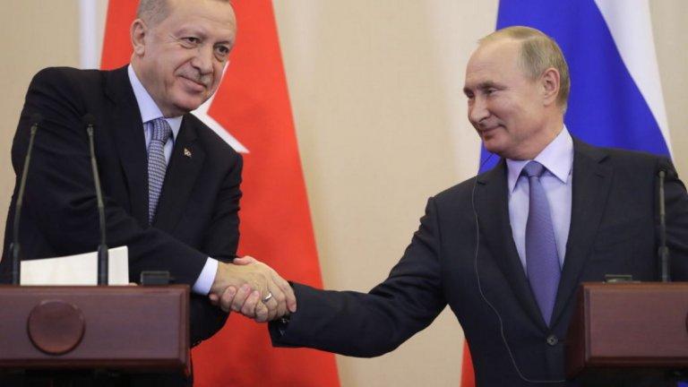 Кой какво взе от договорката за Северна Сирия между президентите на Русия и Турция