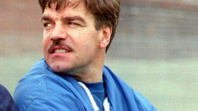 Като мениджър на Блекпул (1994-96).