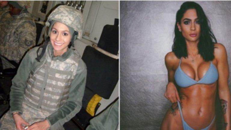 Войникът Хоуп ХауърдДо преди няколко години е военен в Афганистан. Но опитът в сухите азиатски земи я белязва дълбоко и 27-годишната Хоуп Хоуърд, след първите 6 години служба, решава са смени униформата с една стара мечта. Да стане модел и да се посвети на грижата за тялото.