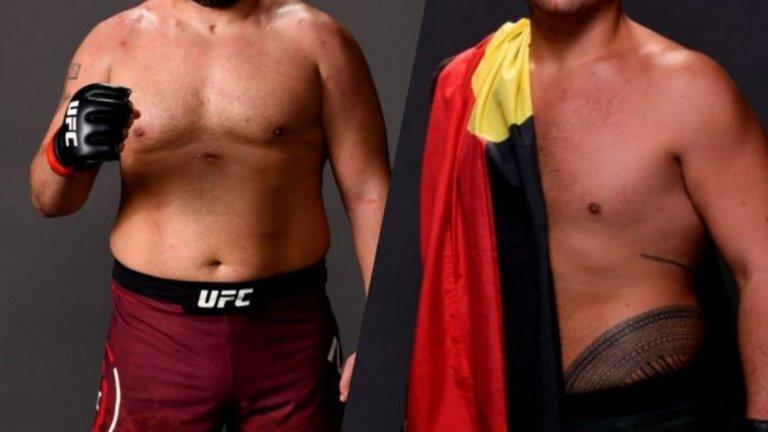 Багата срещу австралиец в третия си мач в UFC