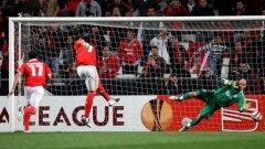 Гигантът от Парагвай Оскар Кардосо е истинска машина за голове този сезон