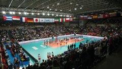 Домакините от Италия се зарадваха на добра посещаемост в първия ден на световното първенство по волейбол