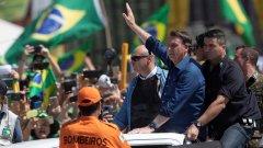 Бразилският президент няма намерение да признае очертаващата му се загуба