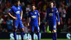 Юнайтед пак не победи, но поне записа първа точка за сезона.