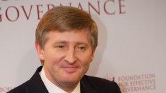 Състоянието на олигарха Ринат Ахметов, собственик на Шахтьор (Донецк), се оценява на 5,2 милиарда долара