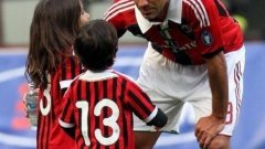 Алесандро Неста – легендарният защитник на Лацио и Милан не се притесняваше, че играе с фаталния номер на гърба си.