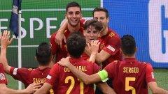 Опитните играчи като Бускетс и Аспиликуета все още играят своята роля, но в Испания настъпва една невероятна млада генерация с възможности тепърва да доминира в световния футбол