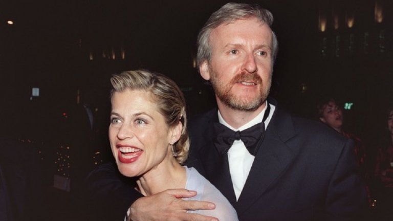 """Линда Хамилтън и Джеймс Камерън Линда Хамилтън се разведе с режисьора на """"Аватар"""" Джеймс Камерън през 1999-та година. Актрисата от """"Терминатор"""" прибра около 50 млн. долара от таткото на """"Титаник""""."""