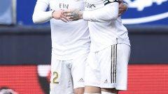 Иско и Рамос набързо обърнаха резултата още през първото полувреме, а в края Реал вкара още два гола