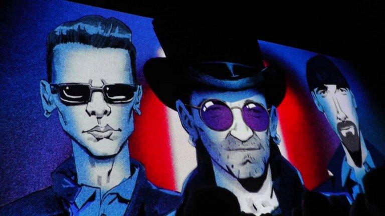 """U2 - Hold Me, Thrill Me, Kiss Me, Kill Me (""""Батман завинаги"""") Да, """"Батман завинаги"""" на режисьора Джоел Шумахер има едно друго, по-култово парче - Kiss From a Rose на Seal. То обаче е далеч по-лирично, а ние търсим нещо по-ударно. И в това отношение U2 определено печелят."""