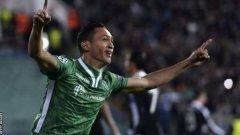 Марселиньо влезе като резерва и вкара победния гол за крайното 2:1