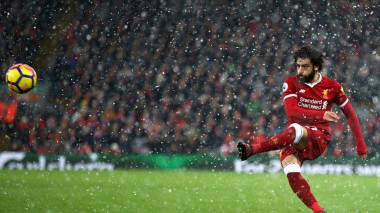 Рекордна ефективност: Срещу Уотфорд крилото вкара 4 пъти с 4 удара към вратата. Във Висшата лига такова нещо е постигал само Андрей Аршавин с Арсенал през 2009-а