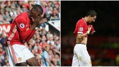Досега сценарият в Юнайтед и за двамата е идентичен, но как ще свърши всичко за Погба?