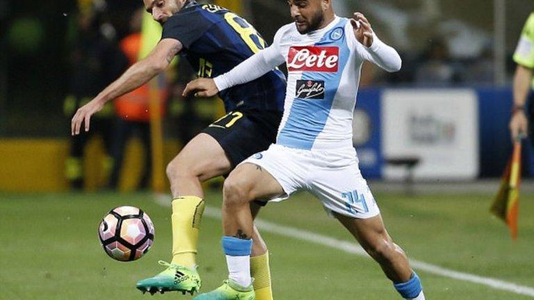 В дербито срещу Наполи Интер ще опита да подсигури мястото си в топ 4