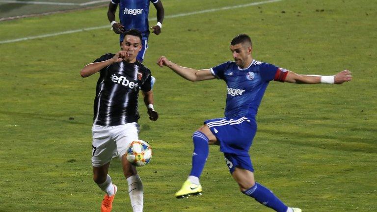 Локо Пловдив се бори до последно, но загуби повторно от Страсбург