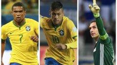 Дъглас Коща и Неймар ще бъдат звездите на Бразилия на домашната Олимпиада