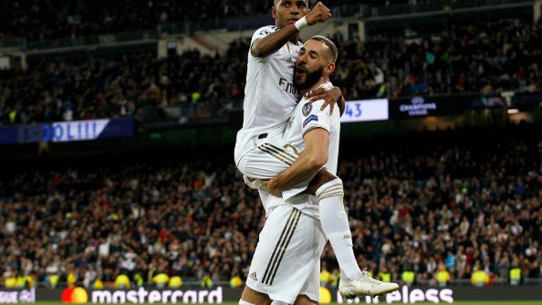 Родриго наниза хеттрик, а Карим Бензема добави два гола за разгрома на Реал