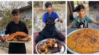 17-годишният Таха готви пред очите на 1 милион последователи в Instagram