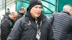 Балъков ще довърши сезона в Етър и после ще се заеме с националите
