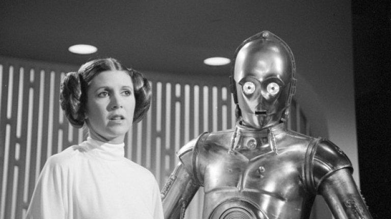 Принцеса Лея и C3PO