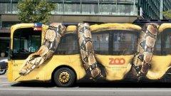 "Шокираща реклама на зоопарк - типичен пример за ""герила маркетинг"""