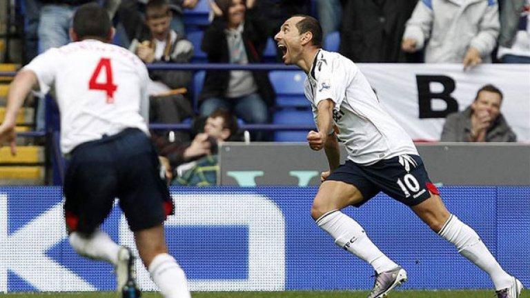 Мартин Петров вкара срещу Манчестър Юнайтед при равенството 2:2 миналия сезон