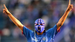 Габриел Перейра от Круз Азул сложи една от най-яките маски във футбола