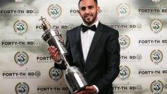 Рияд Марез бе избран за Играч на сезон 2015/16 във Висшата лига