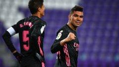 Реал се възползва от грешката на Атлетико и вече е само на три точки