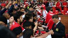 Ван Гаал похвали всички в Юнайтед след успеха срещу Тотнъм