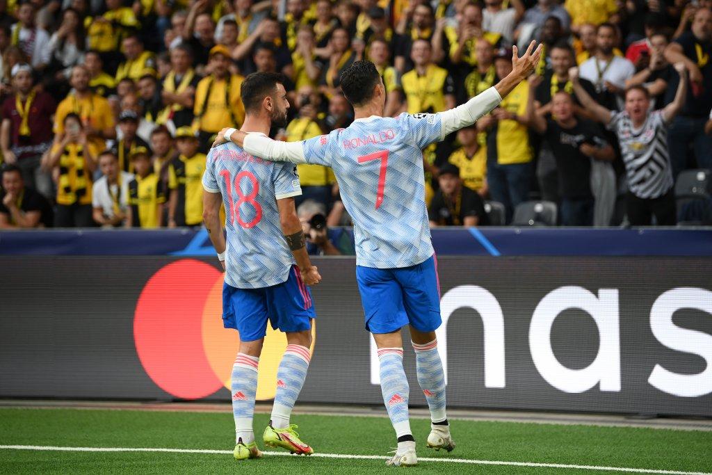 Кристиано вкара, но Юнайтед плака в Швейцария заради Бисака и Лингард