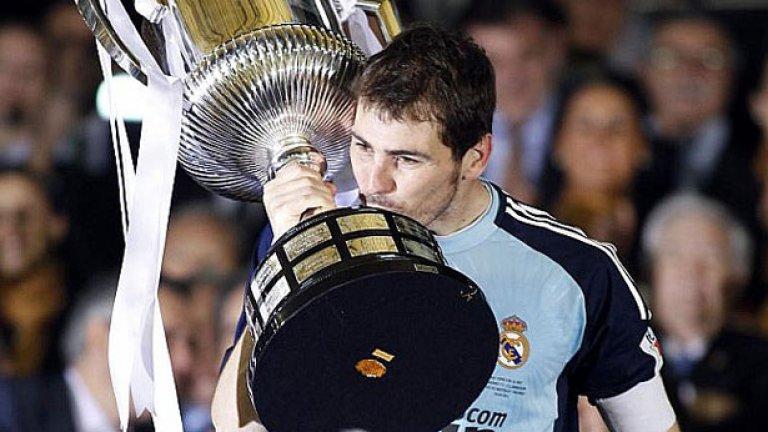 """В безпрецедентния маратон от дербита """"Ел Класико"""" - цели 4 в рамките на 17 дни през април и май, Реал (Мадрид) успя да се пребори с Барселона само на един от трите фронта, печелейки Купата на краля в Испания"""