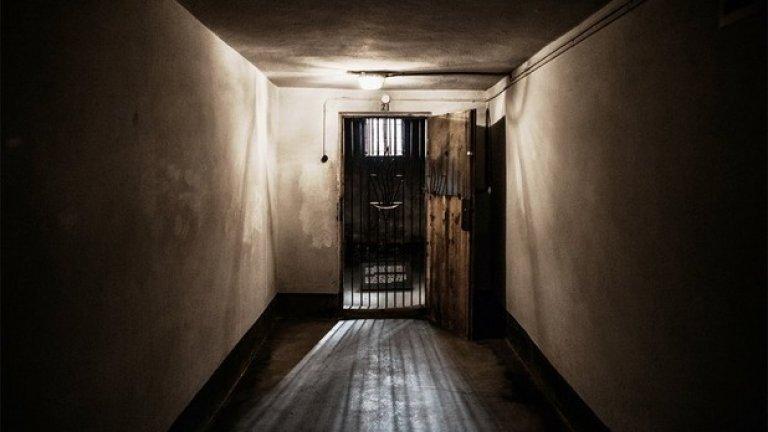 В блок 11 на основния лагер е имало и затвор
