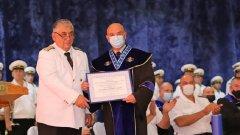 """Според началника на ВМА специалността """"военен лекар"""" вече се утвърждава и има перспективно бъдеще"""