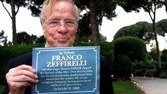 Почина големият италиански режисьор Франко Дзефирели