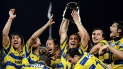 Големият отбор на Парма вдига Купата на Италия през 1999 г.
