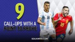 9, които трябва да се доказват в националните си отбори. Вижте ги в галерията...