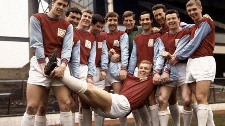 Боби Мур, Уест Хем - №6 Уест Хем няма номер 6 и никога няма да има. В чест на най-великия си син - Боби Муур, мит на английския футбол.
