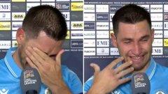 Играч на Сан Марино се разплака от щастие след второто поредно равенство (видео)
